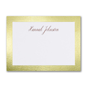 Border Shine - Note Card